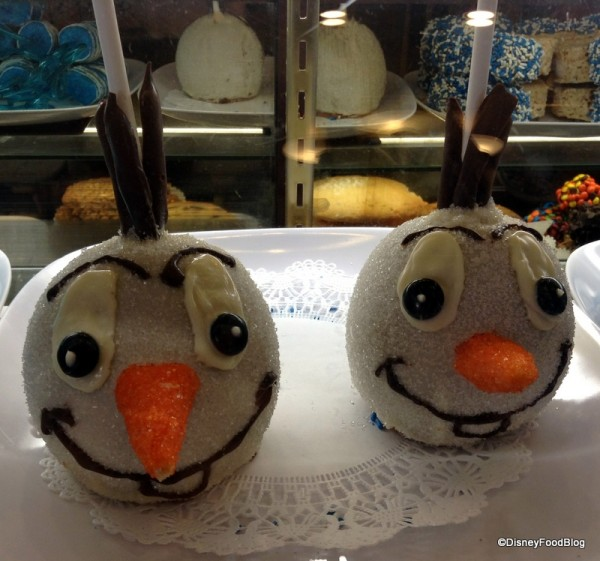 Olaf Candy Apples