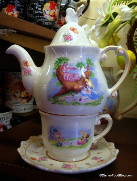 One cup Teapot, Teacup, and Saucer Set