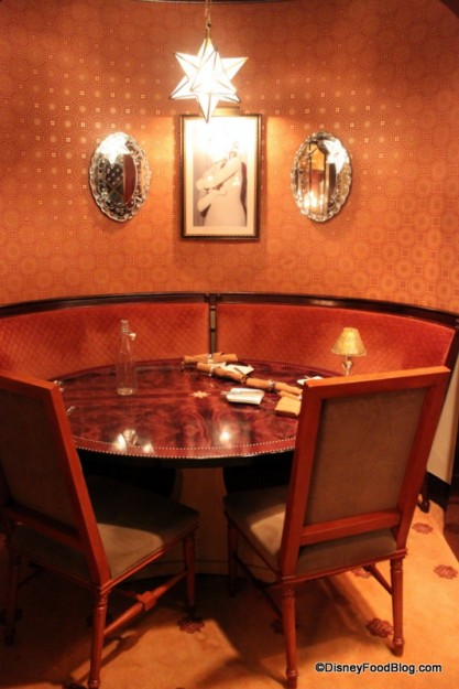 Private Dining Room -- Up Close