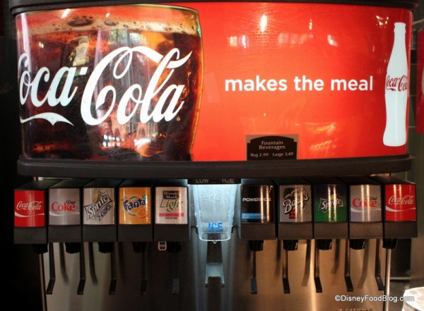 Fountain Drink Machine