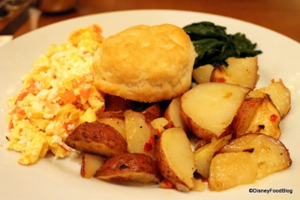 Full plate with Breakfast Potatoes