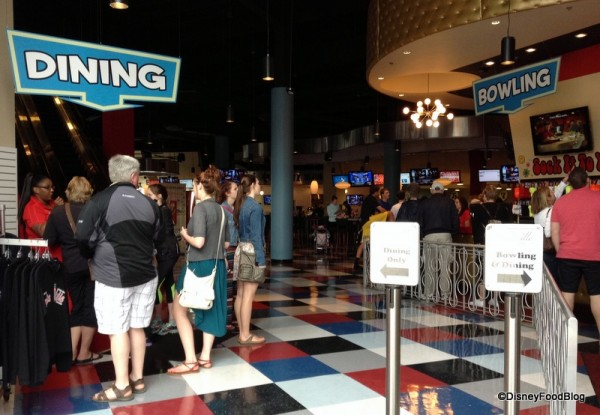 Splitsville Disney Springs: Dining and Bowling Entrances