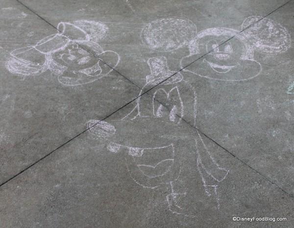 Chalk art!