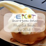 2014 Epcot Flower and Garden Festival FULL Food Booth Menus, Photos, and Reviews