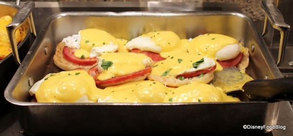 Eggs Benedict with Key Lime Hollandaise