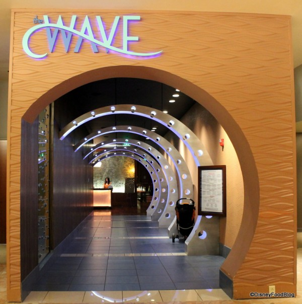 The Wave Entrance