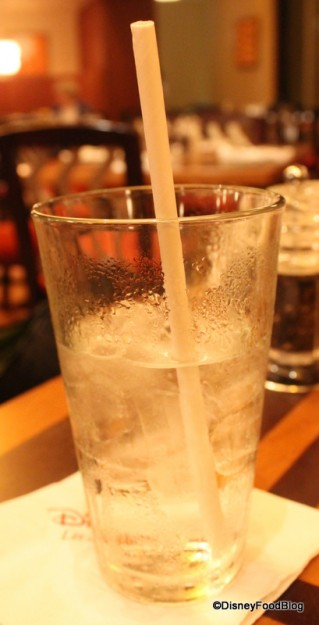 Paper straws for cold beverages