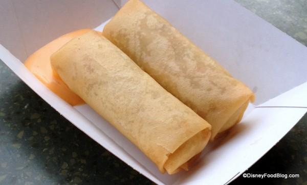 Vegetable spring rolls