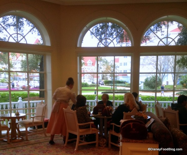 View of the Grand Floridian Grounds