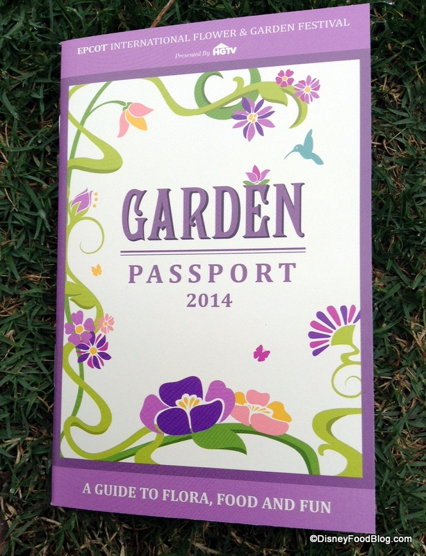 Don't forget to grab your Flower and Garden Festival passport and keep track of all the eats!