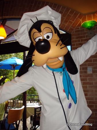 Chef Goofy at Goofy's Kitchen