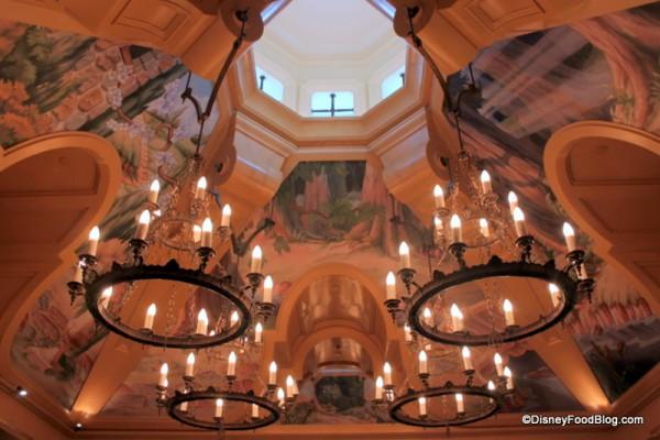 Main Dining Room Ceilings