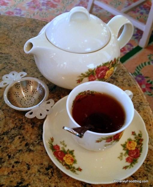 Tea at Garden View Lounge