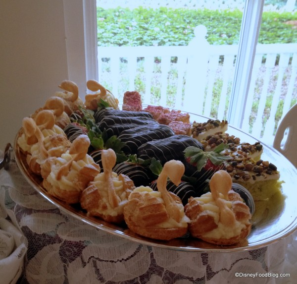 A Tray of Pastries to be Passed