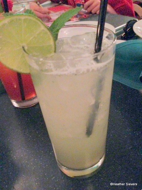 Skinny Coconut Lime Mojito