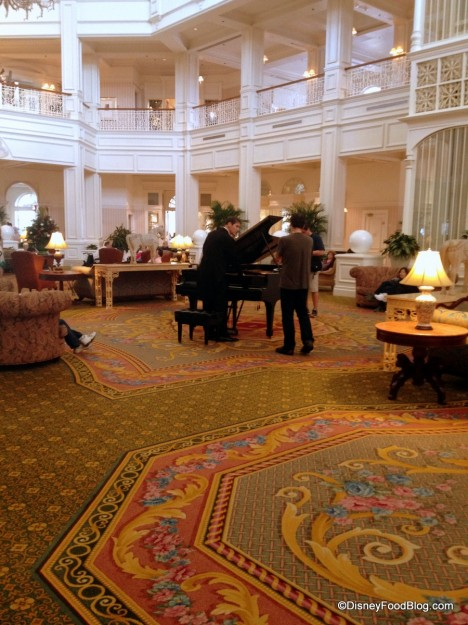 Piano Music in the Grand's Lobby