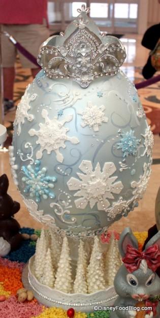 """Back of """"Frozen"""" Egg"""