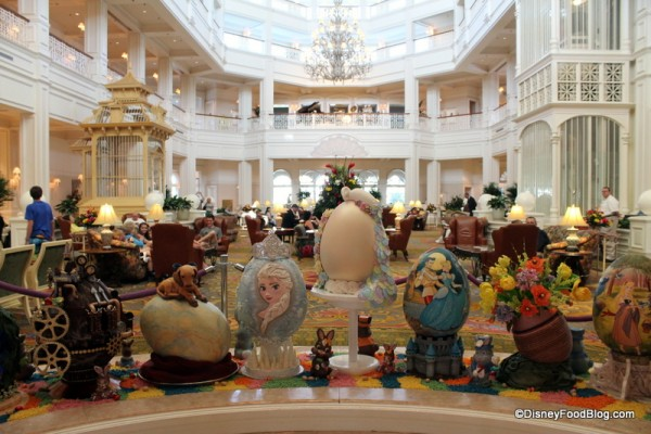 2014 Grand Floridian Easter Eggs