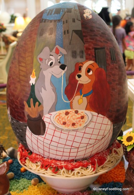 """Lady and the Tramp"" Egg"