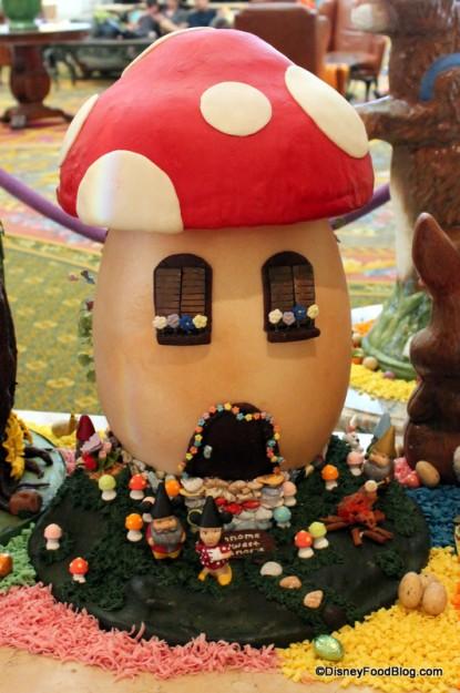 Gnome Mushroom Home