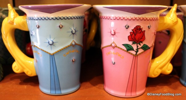 Both sides of the Princess Aurora Mug