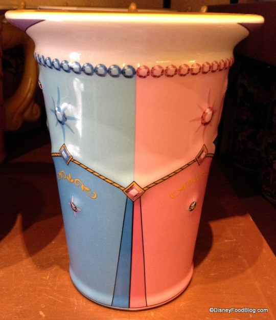 Princess Aurora Mug down the middle