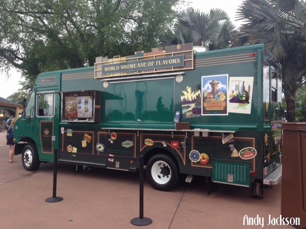 World Showcase of Flavors Food Truck in Epcot