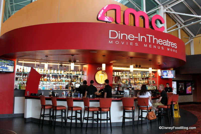 Amc Dine In Food Review