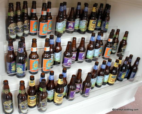 Beers Displayed