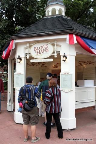 Block and Hans Craft Beer Kiosk America Pavilion