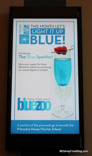 Blue Sparkler