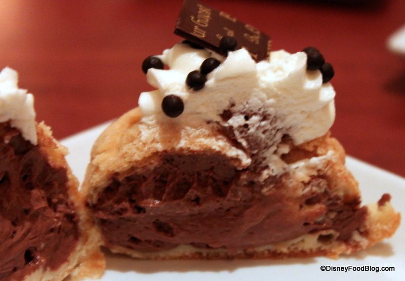 Be Our Guest Restaurant Chocolate Cream Puff