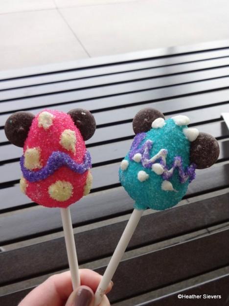 Mickey Easter Egg Cake Pops