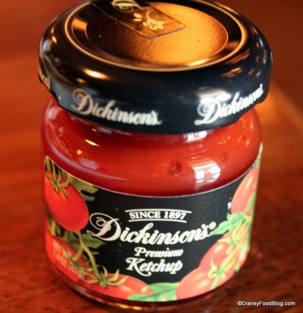 Dickinson's Ketchup in a Jar