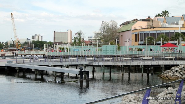 Downtown Disney Construction