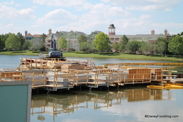 Disney Springs Construction