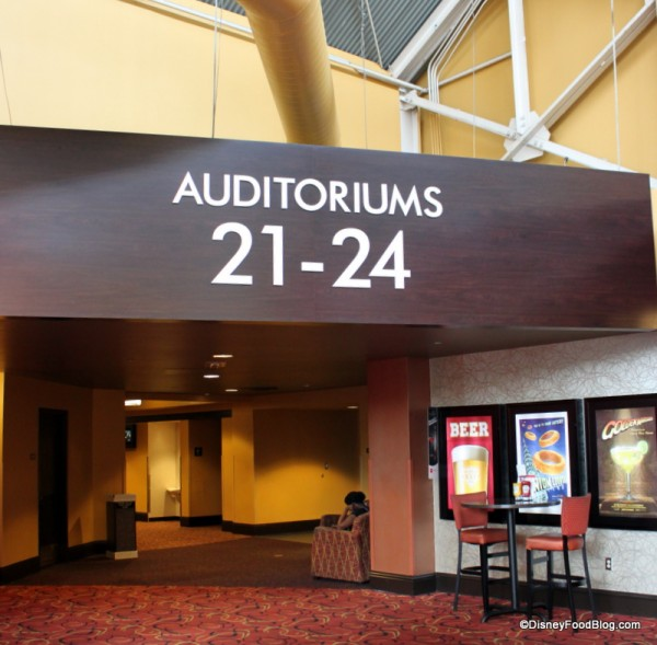 Entrance to Dine-In Theaters