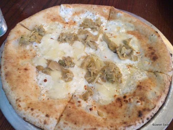 Pizza Carciofi from Via Napoli