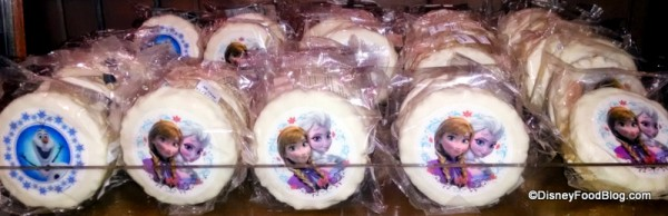 Frozen Themed Cookies