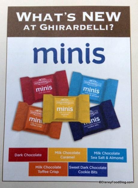 Ghirardelli Minis