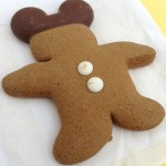 Snack Series: Mickey Gingerbread Cookie