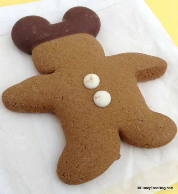 Gingerbread Mickey Cookie