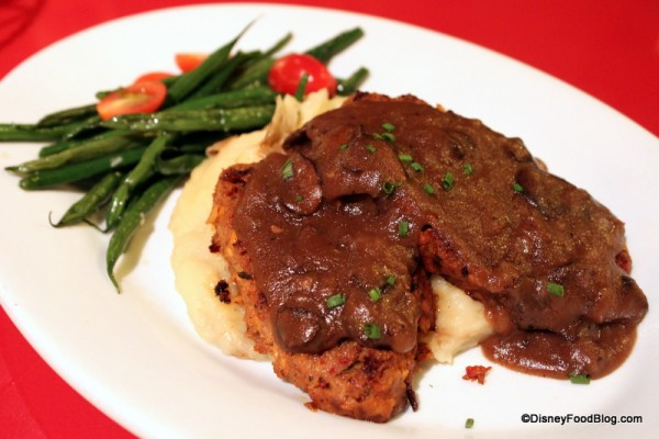 Griddled Western Buffalo Meatloaf