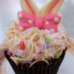 Review: White Chocolate Raspberry Easter Cupcake at Disney's Hollywood Studios
