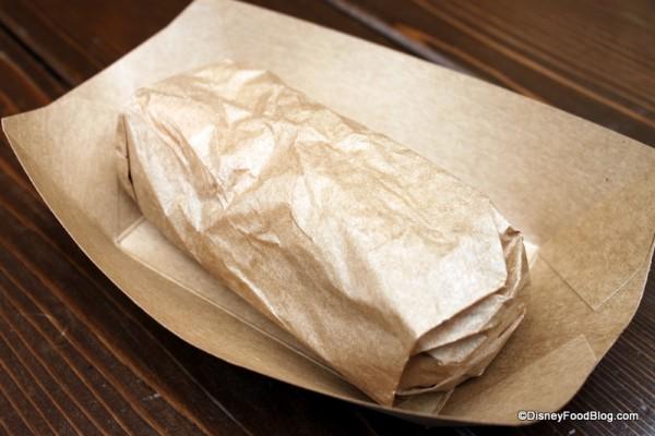Hot Breakfast Wrap -- Wrapped!