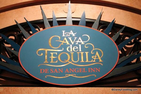 La Cava del Tequila Sign