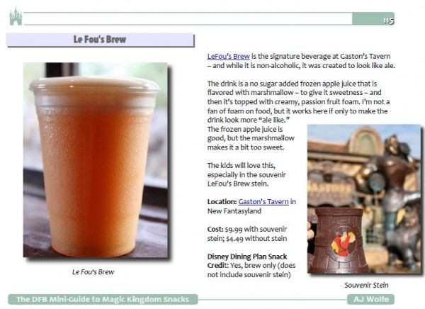 Le Fou's Brew Sample Page