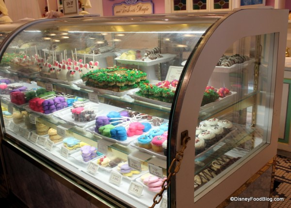 Main Street Confectionery Bakery Case
