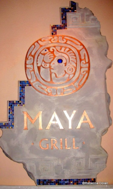 Maya Grill Sign