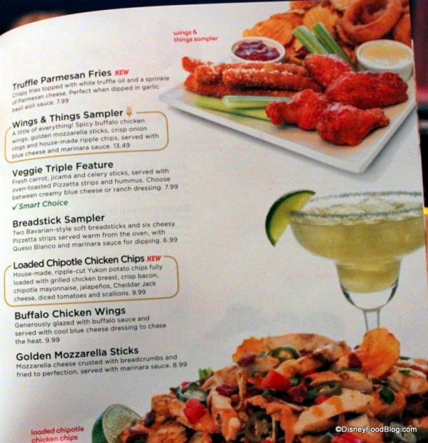 Menu -- More Appetizers -- Click to Enlarge